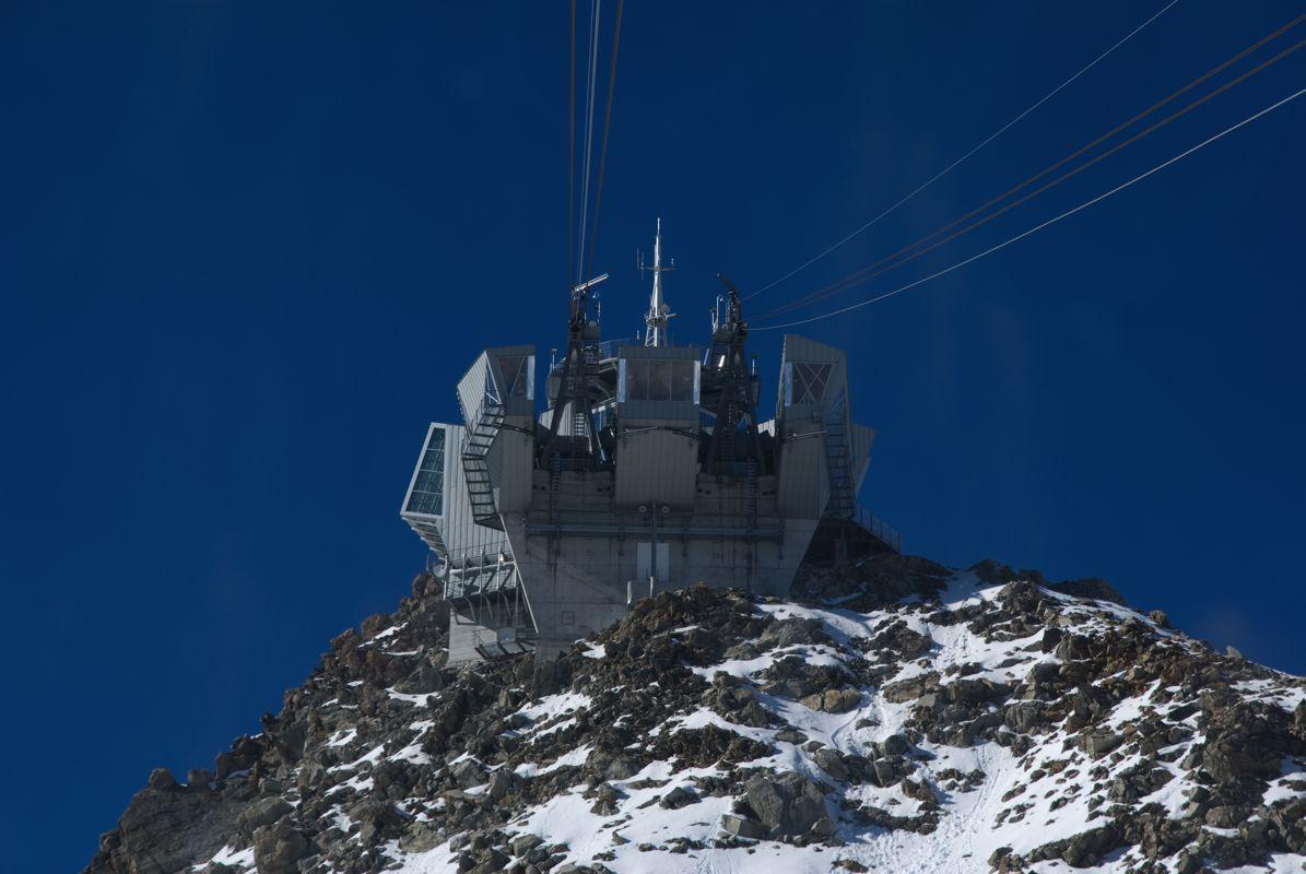 Mont Blanc Punta Helbronner Funivia Courmayeur Ao