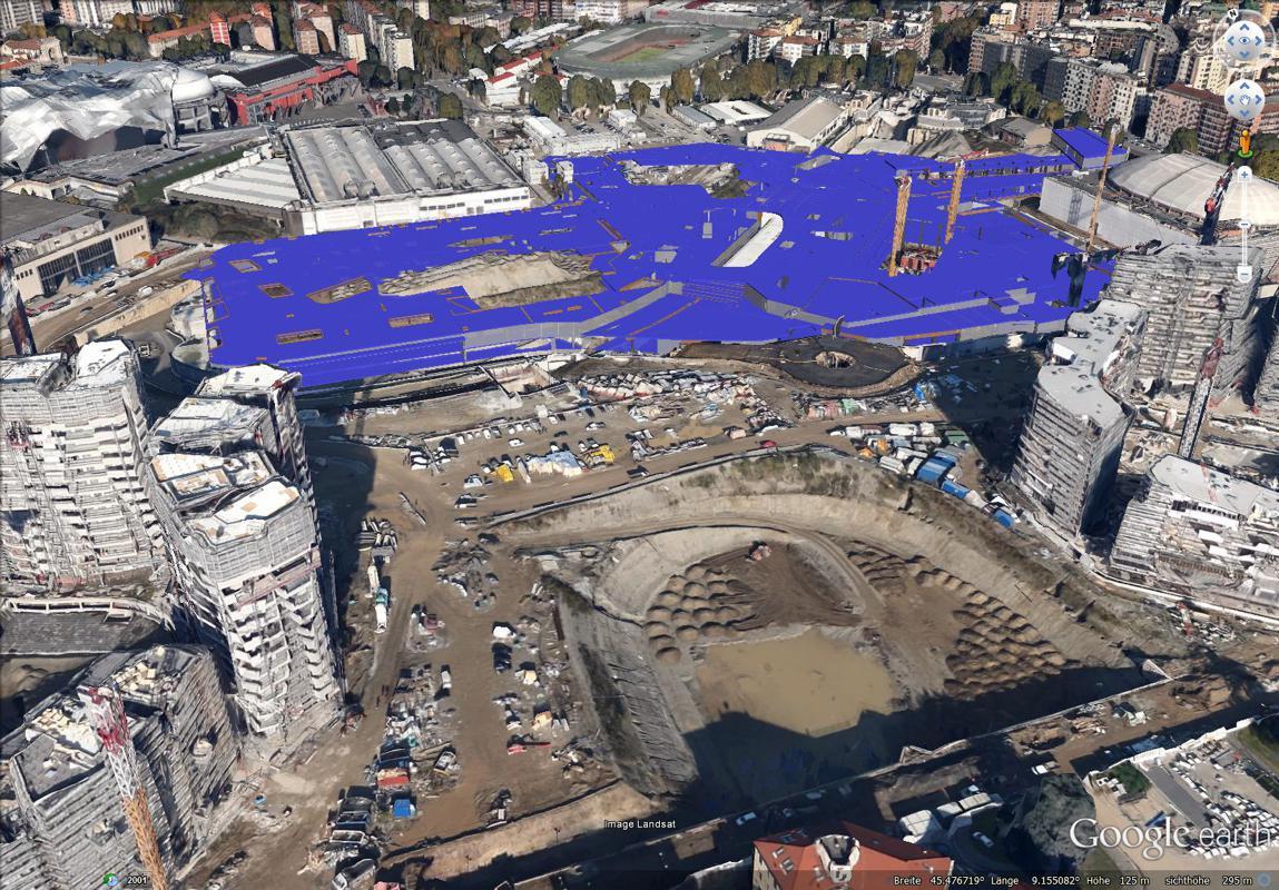 City life milano mi holzner bertagnolli engineering for B b srl milano