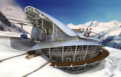 MONT BLANC – Pavillon du Mont Frety – Seilbahn – Courmayeur (AO)