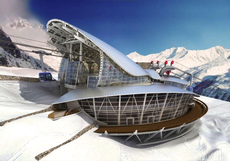 Mont Blanc Pavillon Du Mont Frety Seilbahn