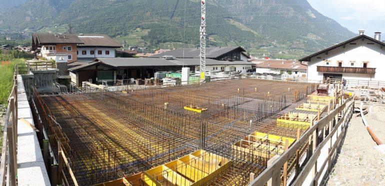 Errichtung neue Werkstätten – Brauerei Forst AG