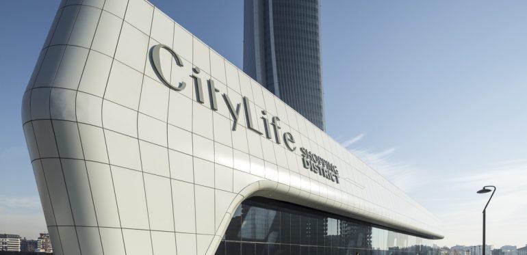 "Eröffnung ""Shopping District Zaha Hadid"" – City Life – Mailand"