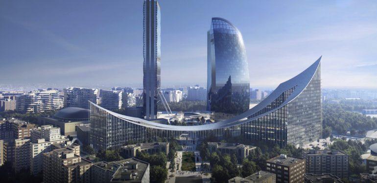 """hb engineering incaricato per il nuovo """"Portico"""" CityLife, Milano – designed by BIG"""