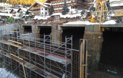 Parcheggio sotterraneo – Selva di Val Gardena (BZ)